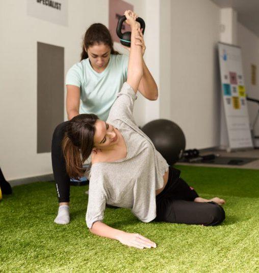 Ćwiczenia indywidualne/ usprawniające